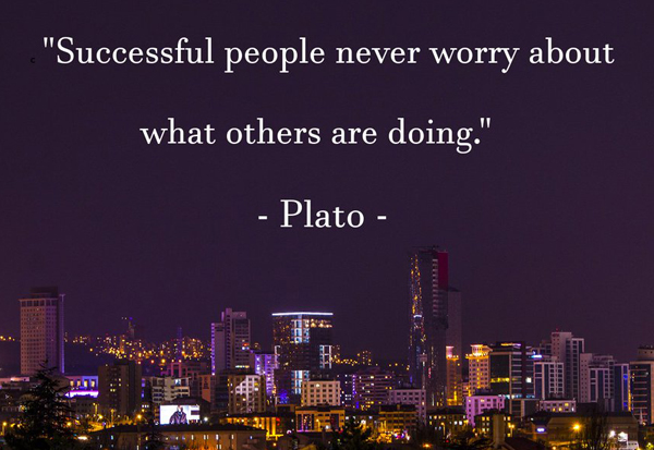 Successful people never wory about...